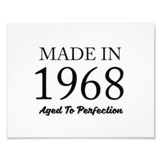Made In 1968 Photo Print
