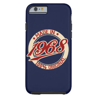 Made In 1968 Tough iPhone 6 Case