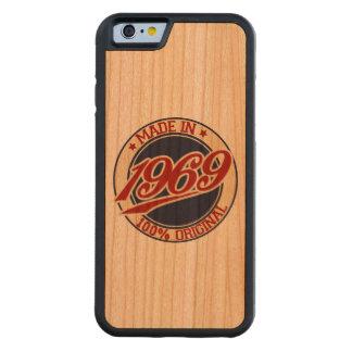 Made In 1969 Cherry iPhone 6 Bumper Case