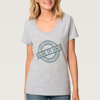 Made in 1969 Circular Stamp Style Logo Women's T-Shirt