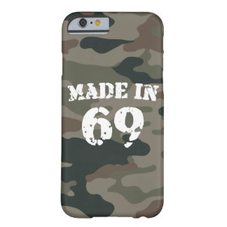 Made In 1969 iPhone 6/6s Barely There iPhone 6 Case
