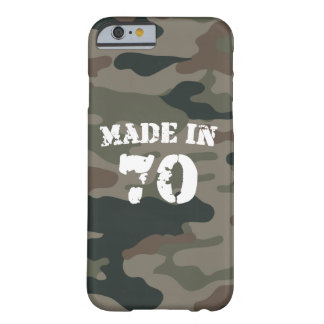 Made In 1970 iPhone 6/6s Barely There iPhone 6 Case