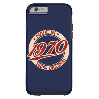 Made In 1970 Tough iPhone 6 Case