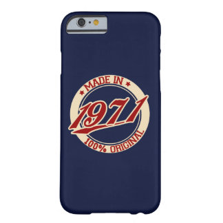 Made In 1971 iPhone 6/6s Barely There iPhone 6 Case