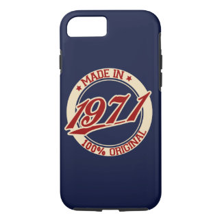 Made In 1971 iPhone 7 Case