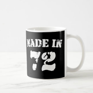 Made In 1972 Coffee Mug