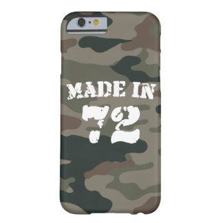 Made In 1972 iPhone 6/6s Barely There iPhone 6 Case