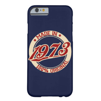 Made In 1973 iPhone 6/6s Barely There iPhone 6 Case
