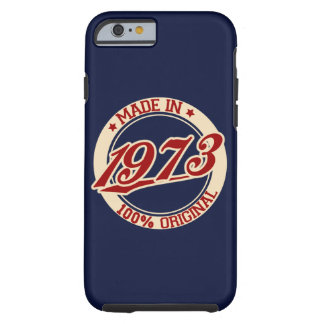 Made In 1973 Tough iPhone 6 Case