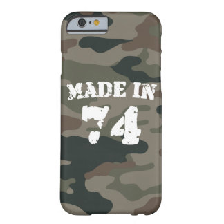 Made In 1974 iPhone 6/6s Barely There iPhone 6 Case