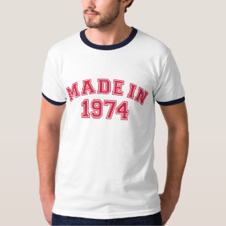 Made in 1974 T-Shirt