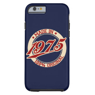 Made In 1975 Tough iPhone 6 Case
