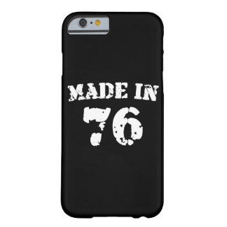 Made In 1976 iPhone 6/6s Barely There iPhone 6 Case