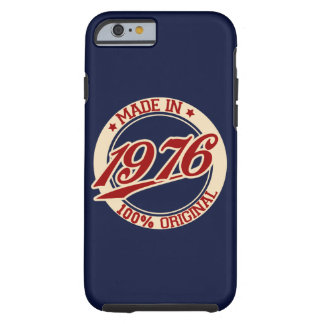 Made In 1976 Tough iPhone 6 Case