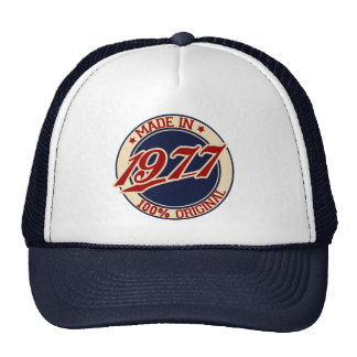 Made In 1977 Cap