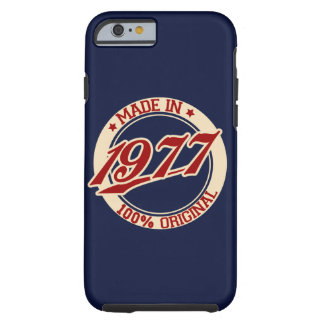 Made In 1977 Tough iPhone 6 Case