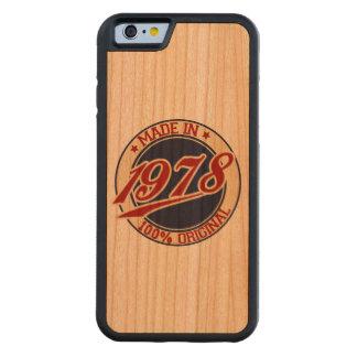 Made In 1978 Cherry iPhone 6 Bumper Case