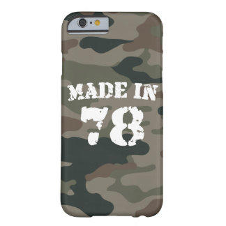 Made In 1978 iPhone 6/6s Barely There iPhone 6 Case
