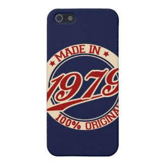 Made In 1979 iPhone 5 Covers