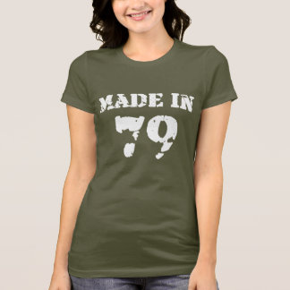 Made In 1979 Shirt