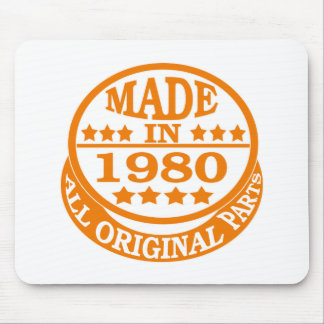 Made in 1980 all original parts mousepads