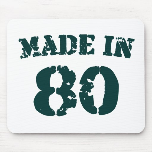 Made In 1980 Mousepads