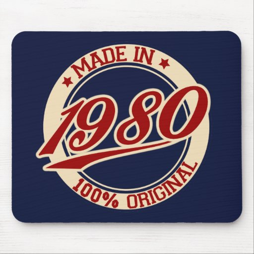 Made In 1980 Mouse Pad