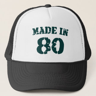Made In 1980 Trucker Hat