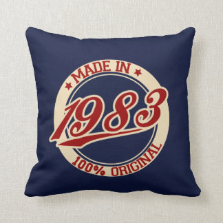 Made In 1983 Cushion
