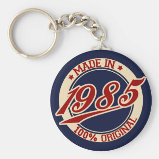 Made In 1985 Key Ring