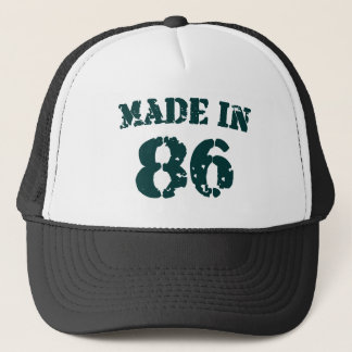 Made In 1986 Trucker Hat