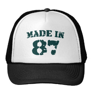 Made In 1987 Cap
