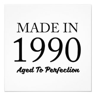 Made In 1990 Card