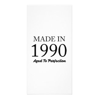 Made In 1990 Photo Card