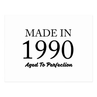 Made In 1990 Postcard