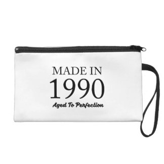 Made In 1990 Wristlet Purse
