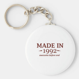 Made in 1992 keychain