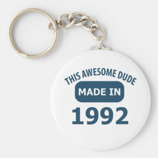 Made in 1992 keychains