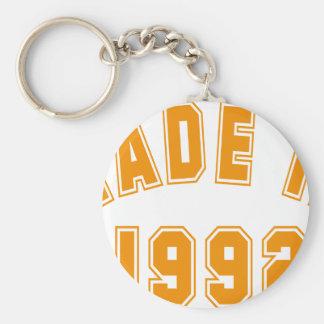 Made in 1992 schlüsselanhänger