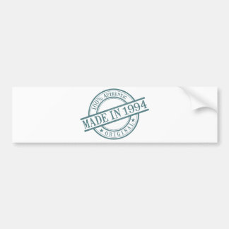 Made in 1994 Circular Stamp Style Logo Bumper Sticker