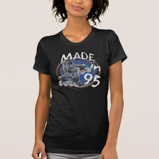 MADE in 1995 ROLLER Blade Inspired Birthday TEE