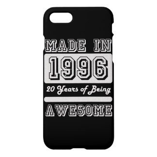 Made in 1996 iPhone 7 case