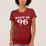 Made In 1996 Shirt T Shirts