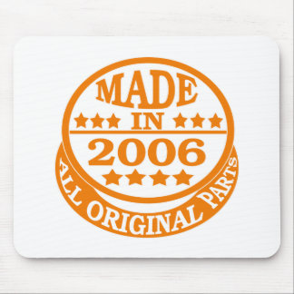 Made in 2006 all original parts mouse pad