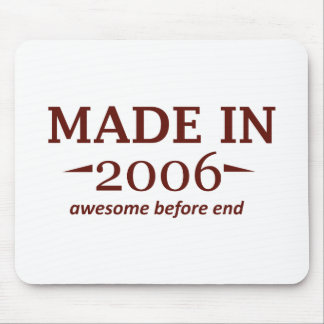 Made In 2006 Birthday Designs Mouse Pads