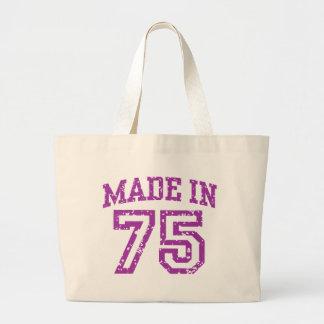Made In 75 Jumbo Tote Bag