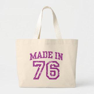 Made In 76 Jumbo Tote Bag