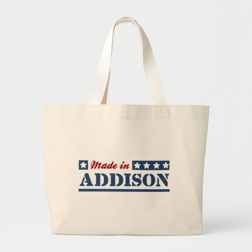 Made in Addison Jumbo Tote Bag