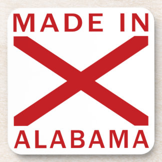 Made In Alabama Drink Coaster