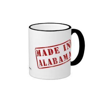 Made in Alabama Ringer Mug